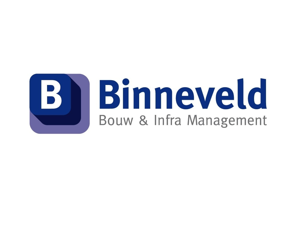 Binneveld Bouw & Infra Management logo Ben Drost - logo ontwerp portfolio