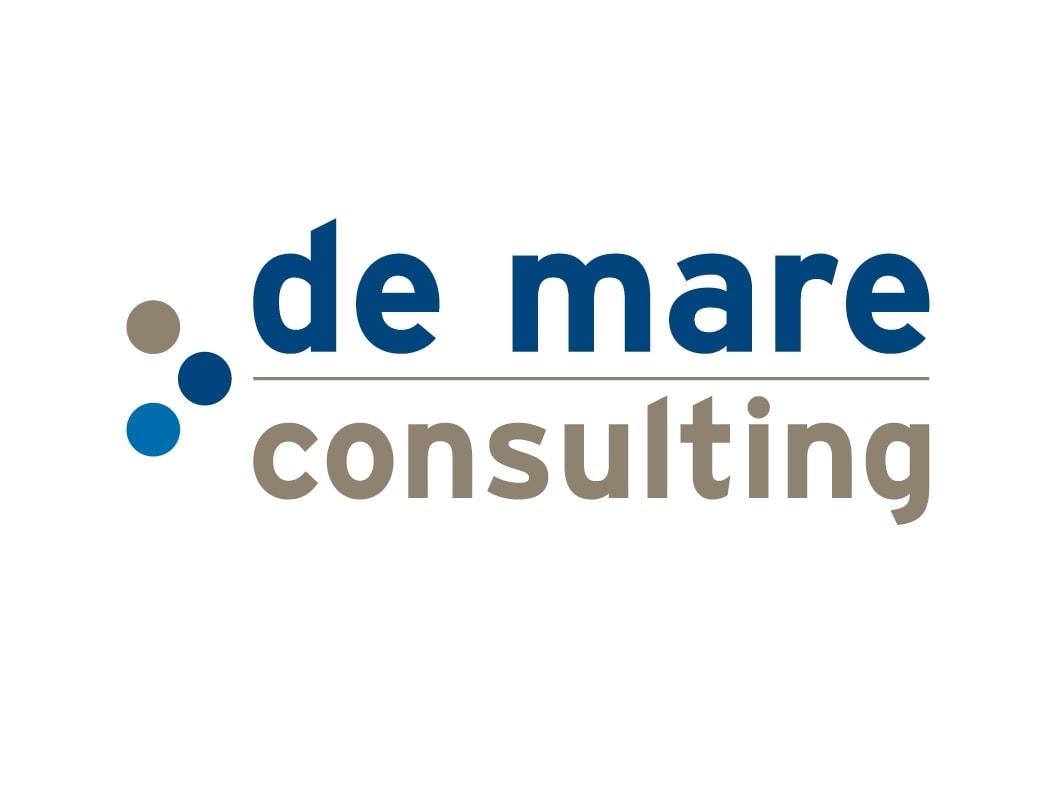 De Mare Consulting logo Ben Drost - logo ontwerp portfolio