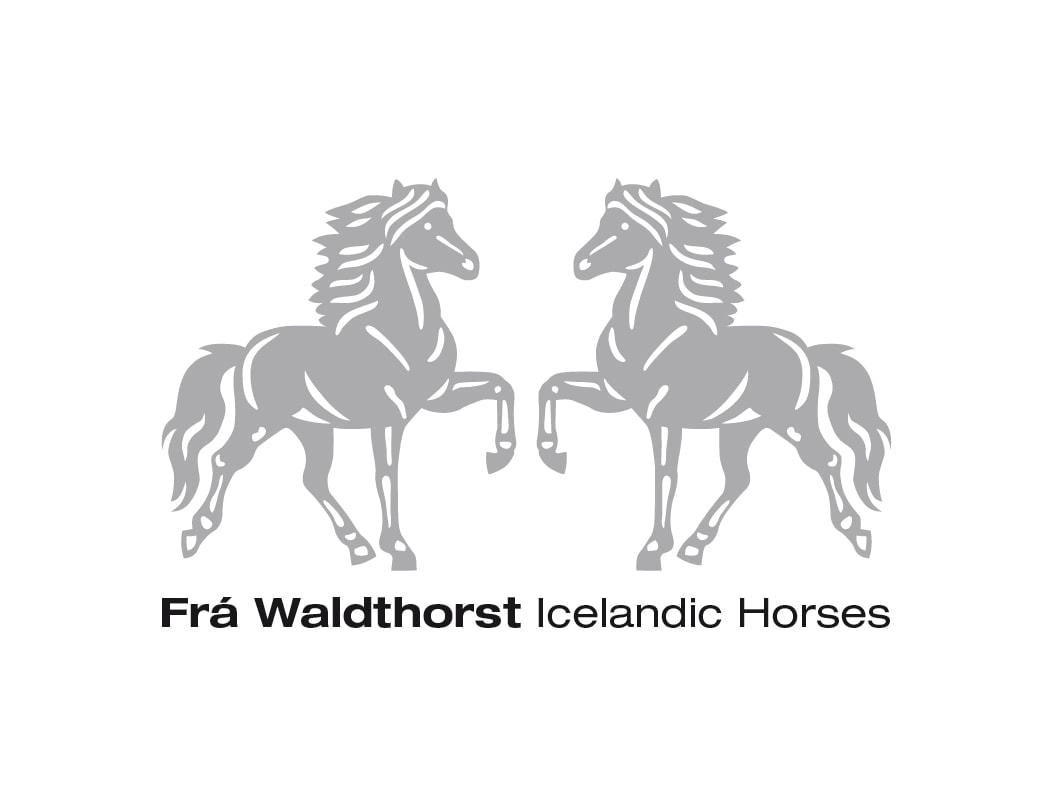 Frá Waldthorst fokker ijslander paarden logo Ben Drost portfolio