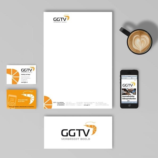 GGTV journalistieke videoproducties | huisstijl door Ben Drost