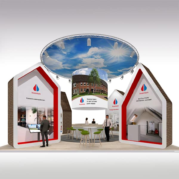Dtp-ontwerp voor beursmaterialen Inventum (opdrachtgever: EMC Expo, Utrecht)