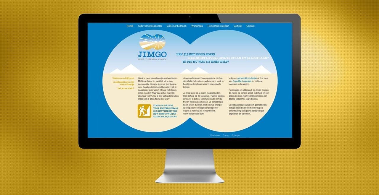 Jimgo loopbaanadvies | webdesign portfolio Ben Drost