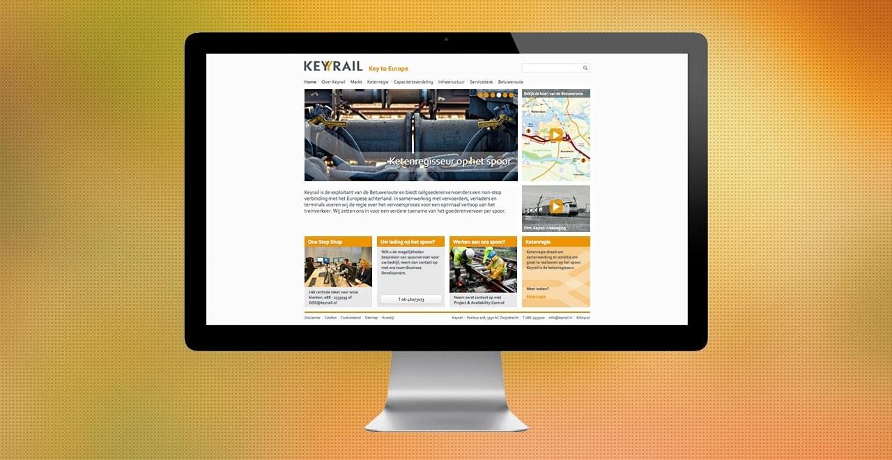 Keyrail responsive webdesign Ben Drost