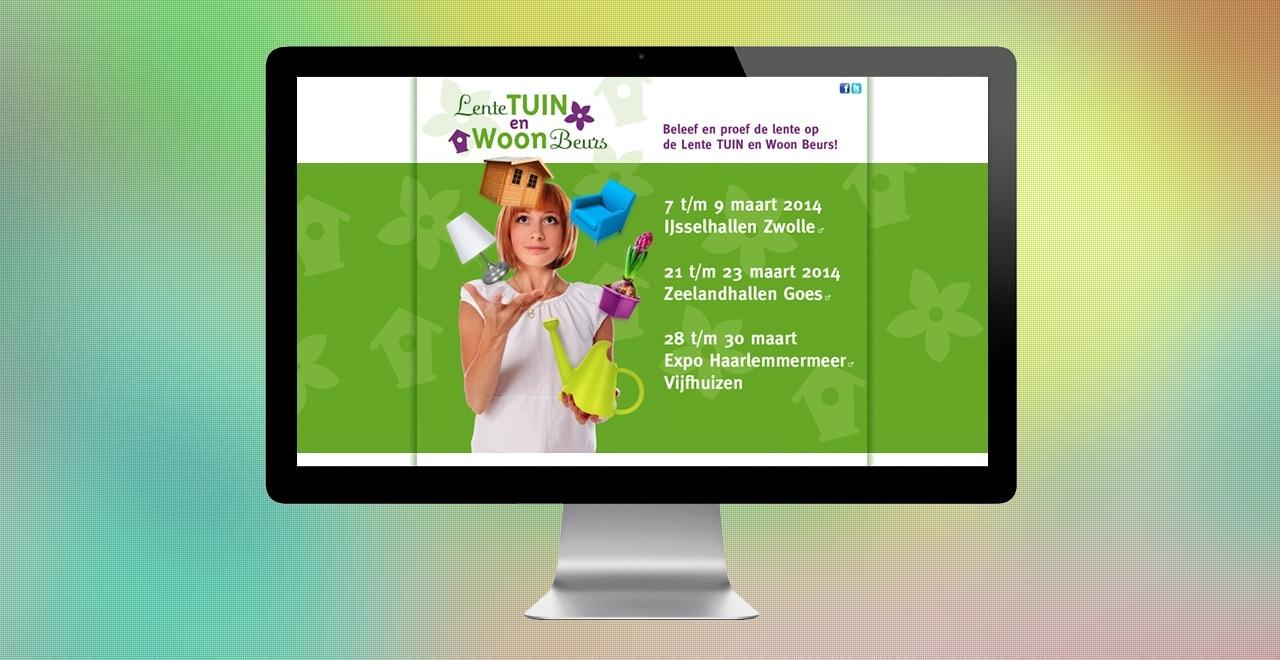 LTWB beurs IJsselhallen | webdesign portfolio Ben Drost