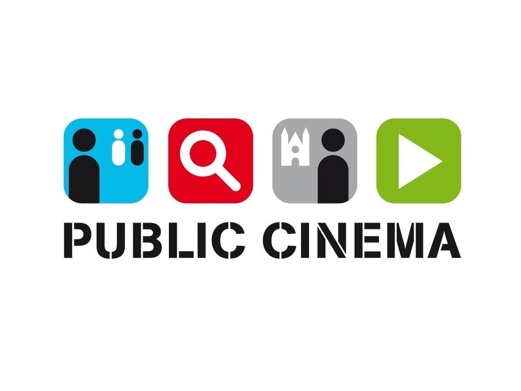 Public Cinema videoproducties logo Ben Drost - logo ontwerp portfolio