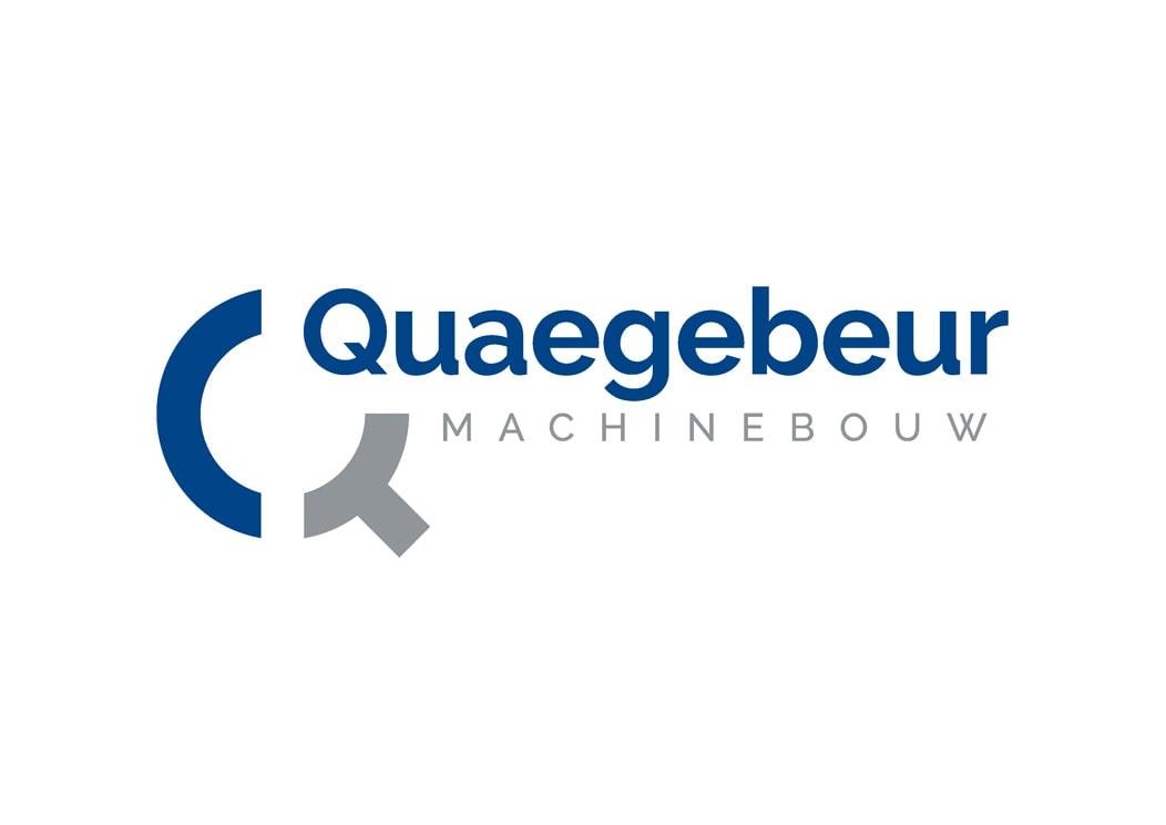 Quaegebeur Machinebouw logo | Logo ontwerper: Ben Drost - logo ontwerp portfolio