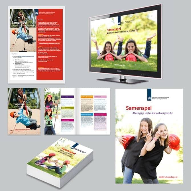 Huisstijlontwerp en grafisch ontwerp marketingmaterialen