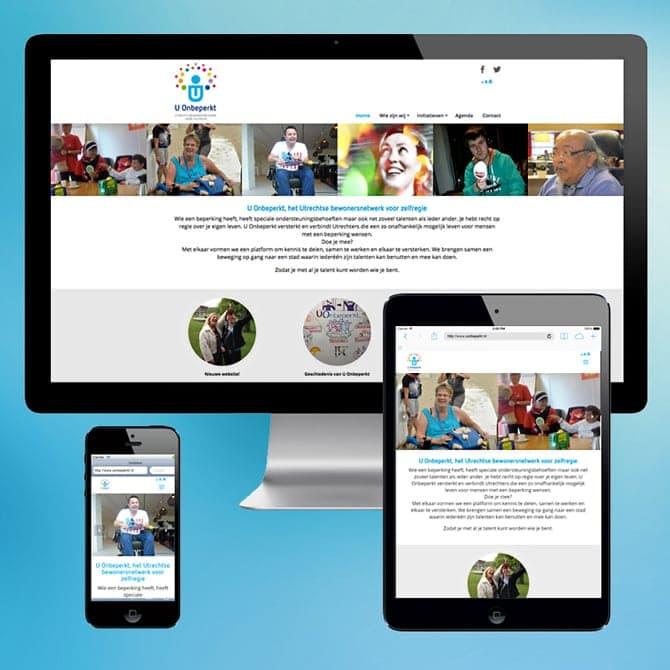 Voorbeeld responsive webdesign