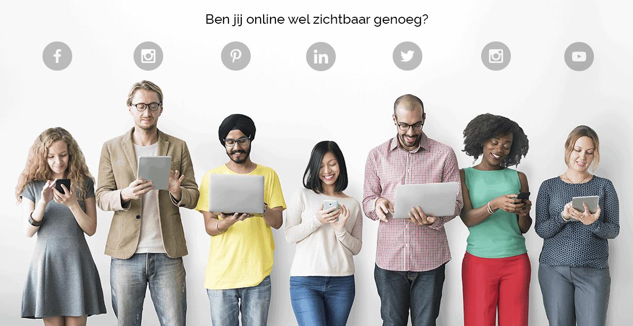 Structureel actief op social media met een social media content abonnement van Drost advies en creatie