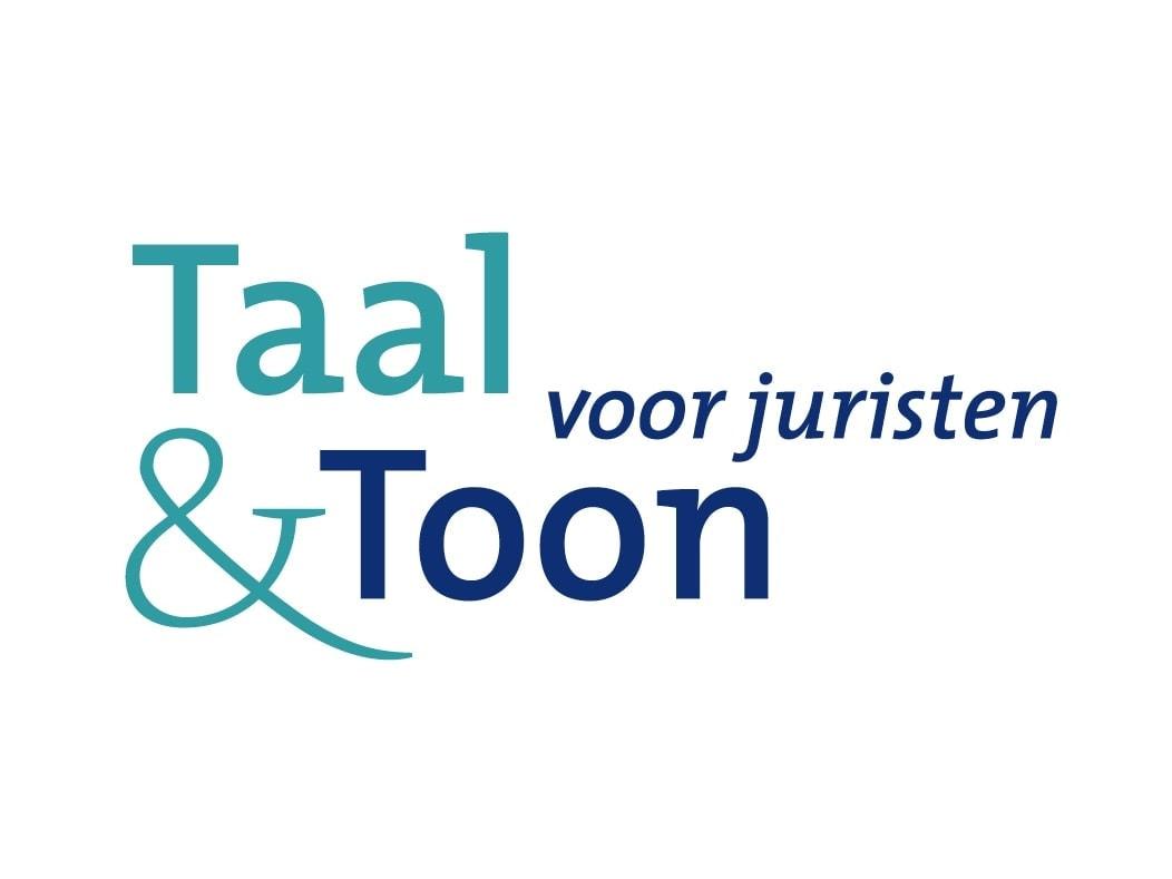 Taal en Toon voor juristen trainingen logo ontwerp Ben Drost portfolio