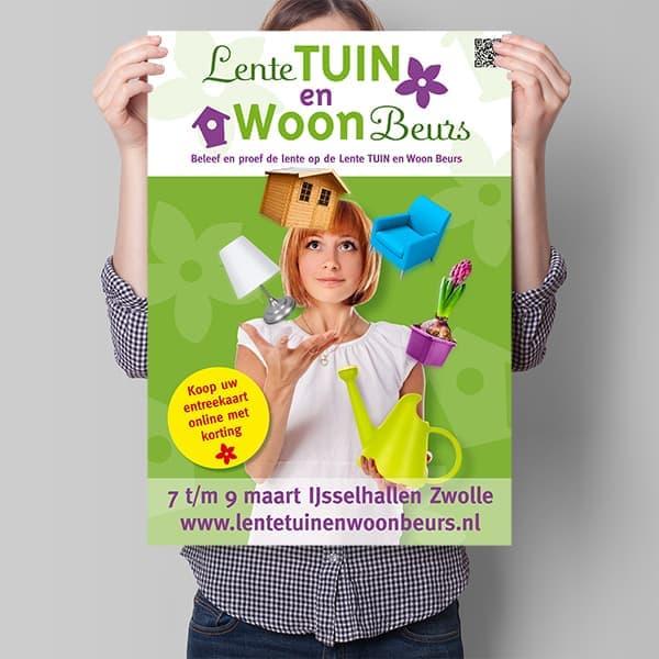Tuinbeurs huisstijl dtp-ontwerp poster Libema IJsselhallen dtp-er Ben Drost